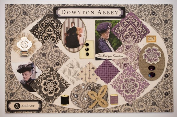 Downton Mood Board - The Dowager Small