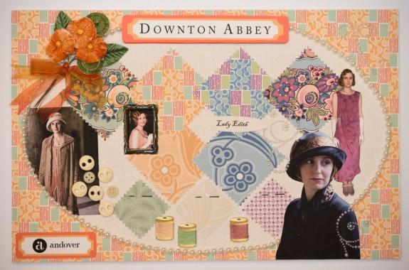 Downton Mood Boards - Edith Small