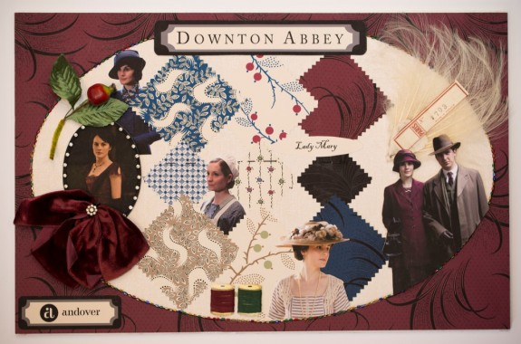Downton Mood Boards - Mary Small