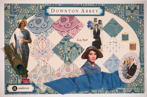 Downton Mood Boards - Sybil Small